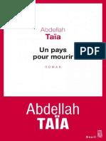 Abdellah Taia - Un Pays Pour Mourir (3)