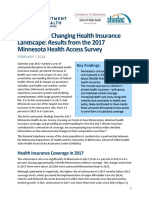 Minnesota's Changing Health Insurance Landscape