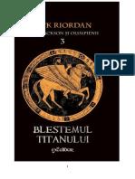 Percy Jackson Și Blestemul Titanului