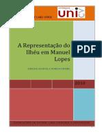 A Representação Do Ilhéu Em Manuel Lopes