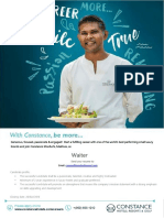 Waiter Cmm16 Corporate Vacancies Ad