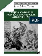 Viaje a caballo por las provinc - William Mac Cann.pdf