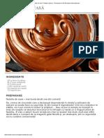 Nutella de Casă - Retete Culinare - Romanesti Si Din Bucataria Internationala