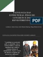 Patologia Das Estruturas