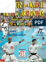 Normativa VI Trofeo Villa de Arriondas 2018