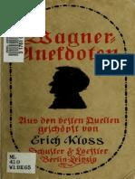 Wagner-Anekdoten