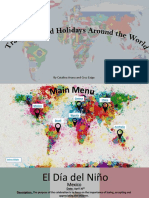 traditions and holidays around the world