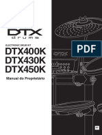 Yamaha dtx450 manual