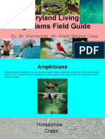 maryland organisms field guide