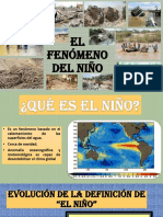 Diapositivas Del Fenomeno Del Niño