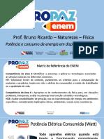 Apresentação - Pro Paz Enem_4_Energia e Potencia elétrica