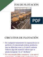 Flotación circuitos