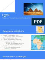 egypt presentation - the middle east