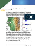 Briefing Note 309 Feb 5_2016 Tainan Earthquake