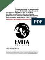 Evita Icono Gay