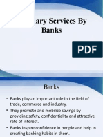 Ancillary Services of Banks