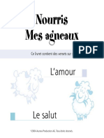 Nourris Mes Agneaux - L'Amour Et Le Salut