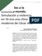 7. CHAMADA IRENE DEPETRIS CHAUVIN - Bienvenidos a la discoteca-mundo Cesar aira.pdf
