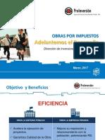 2017 Obras Por Impuestos_Region La Libertad 08 Marzo