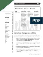 Exploring Dance Styles