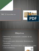 NIC 2 Inventarios