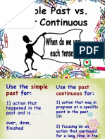 Past Simpe vs Past Continuous