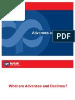 A Kotak Securities Review - Advances and Declines