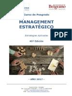 Management Estratégico - Programa UB-Denuo 2017