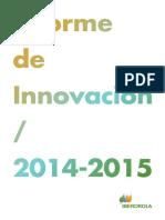 Informe Innovacion 2014 2015