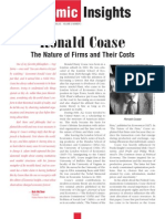 Ronald Coase _the Nature of Firms and Their Costs