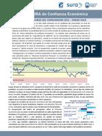 Confianza Del Consumidor - Febrero 2018