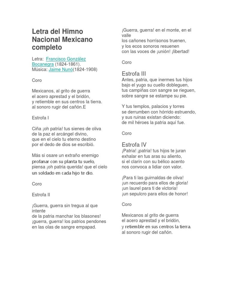 Himno nacional mexicano partitura completa pdf to jpg