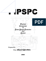 Practical Introduction to Power System Protection and Control; Ahmed Safie Eldin, 94pp, 2005