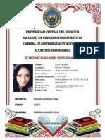 Portafolio de Auditoria Financiera II Chacón Villarroel Karol Michelle