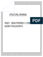 Structural Drawings Category IV3 Storey