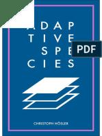 Adaptive Species - Christoph Hoesler
