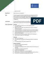 Job Description Assistant Accountant