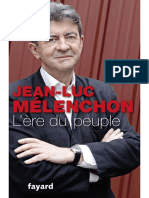 Mélenchon, Jean-Luc-L'Ere Du Peuple-Fayard (2014)