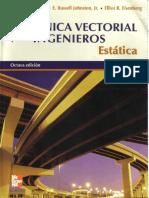 Mecanica Vectorial Para Ingenieros Estatica - Edicion 8 - Beer, Johnston