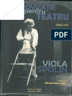 Viola Spolin - Improvizatie Pentru Teatru
