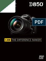 Nikon D850 Brochure
