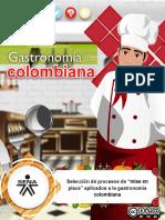 MF 3 Seleccion Procesos Mise Place Aplicados Gastronomia Colombiana