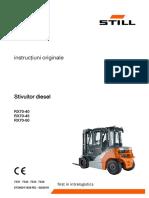 Stivuitor Diesel RX70-40, 45, 50