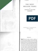 The Next Million Years - Charles Galton Darwin