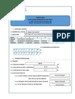 Formulario de Evaluacion Infraestructura Fisica
