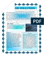 Land Pollution Flyer