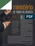 Artigos de Revistas - sacerdócio real, discipulado, dons, etc