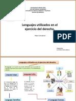 Lenguajes Utilizados en El Ejercicio Del Derecho.