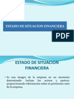 Estado de Situacion Financiera Segun Nic