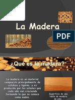 Madera Como Material de Construccion